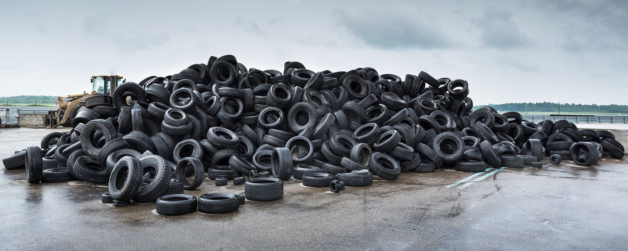 Why you should always try to recycle your old tyres.