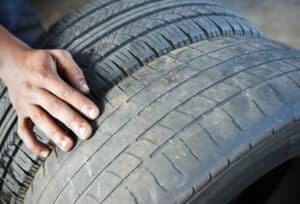 This is what happens when you drive with worn out tyres